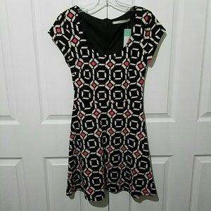 Stitch Fix Dresses - 41 Hawthorne Stitch Fix Geometric Print Dress Sz S